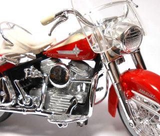 1962 62 FLH Duo Glide Motor Bike Harley Davidson Motorcycle 1 18 Die