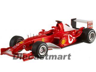 Hotwheels Elite X5514 1 43 Ferrari 2003 GA Michael Schumacher Italy F1
