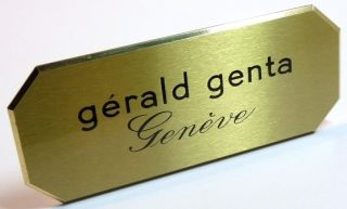 Gérald Genta Watch Store Shop Display Exposants Espositore Official