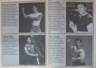 1995 Inside Martial Arts Bolo Yeung Russell Wong Black Belt Karate