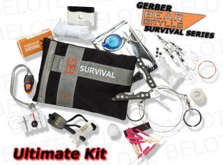 Gerber Bear Grylls Survival 16pc Ultimate Kit 31 000701