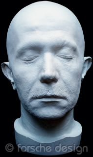 Gary Oldman Full Head Life Mask Lifecast Bust Commissioner Gordon Dark