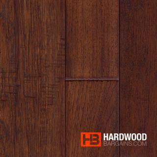 Hand Scraped Naples Hickory Hardwood Flooring Wood Floor