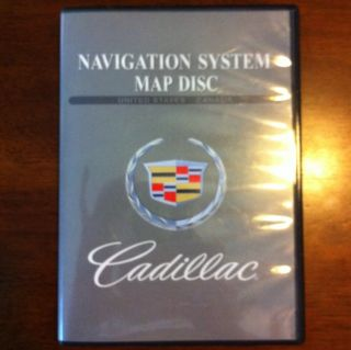 Cadillac GM Navigation System Map DVD US Canada Version 2 00 Part No
