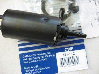 83 91 GMC Vandura G1500 Windshield Washer Fluid Pump