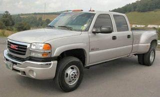 03 07 GMC Sierra 1500 HD 2500 HD 3500 Leather Driver Side Bottom Seat