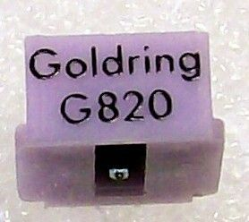 Genuine Goldring Stylus Needle Used in Gold Ring G 820 Cartridge