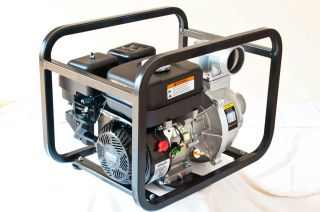 Gas Water Pump Powered by Kohler SH265 Engine 3 inch Water Pump
