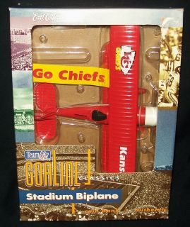 Kansas City Chiefs 1931 Stearman Stadium Biplane Coin Bank