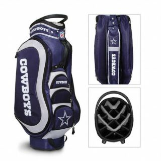 NFL Dallas Cowboys Team Golf Medalist Golf Cart Bag