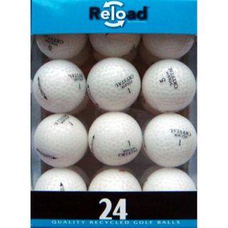White Golf Balls Pack of 48 Volvik Crystal White Golf Balls
