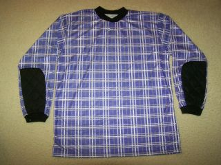 Goalie Jersey Padded Elbows Purple Adult Womens Mens Size Large