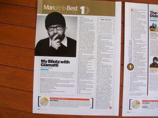 Paul Giamatti A One Page Interview