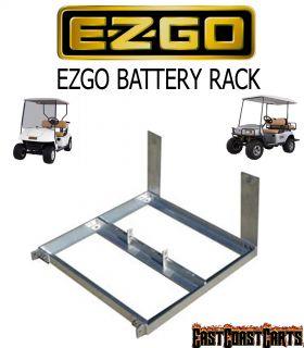 EZGO 1994 Up Golf Cart Replacement Aluminum Battery Rack Box