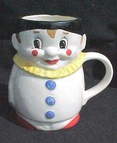 Goebel West Germany Porcelain Clown Mug 74 315 14