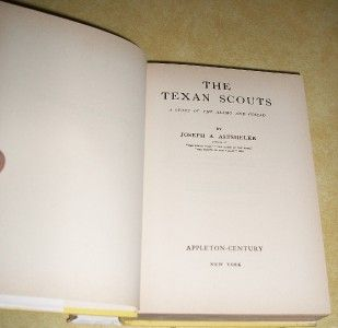 Texas Texan Scout Book Esquire Mini Cowboy Cap Gun Toy Leather Studded