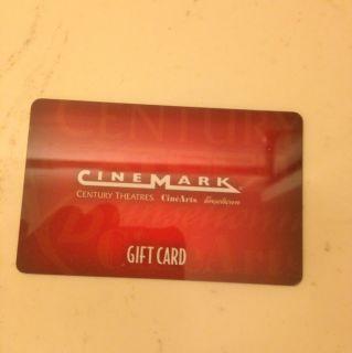 Cinemark Movie Theater Gift Card
