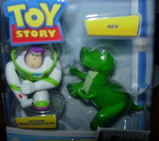 Disney Toy Story Buddy Pack Rex Buzz Lightyear