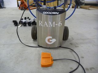 Goodway RAM 6 High Flow Chiller Tube Cleaner