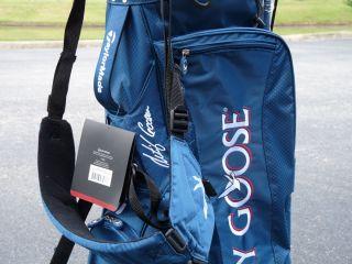 TaylorMade Custom Corza, Grey Goose Retief Goosen Signature Golf Bag