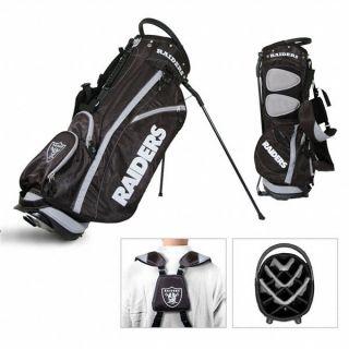 Licensed NFL Oakland Raiders Team Golf Stand Bag
