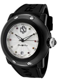 Glam Rock Watch GRD60003 NCR Womens Crazy Sexy Cool Silver Guilloche