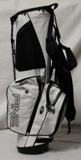 New Ping Hoffer 12 Golf Stand Bag White Black
