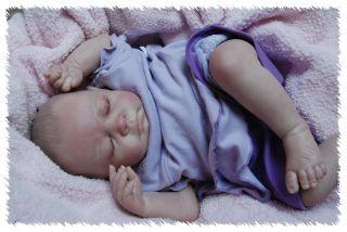 Reborn Gena Sculpt OOAK Doll Lifelike Fake Art Artist Baby Michelle