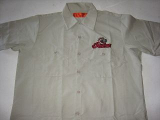 Authentic Indian Motorcycle Gilroy Factory Short Sleeve Work Shirt