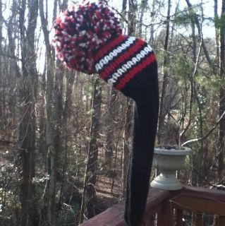 Golf Club Headcovers Hand Knit Custom Colors 100 Wool Wood Headcover