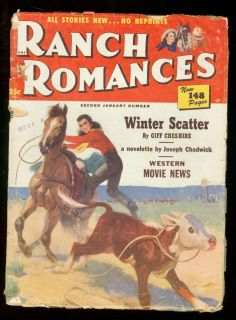 Ranch Romances Jan 1951 Devils Doorway Gene Autry VG