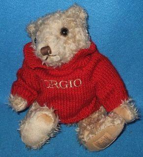1995 Giorgio Beverly Hills Collector Stuffed Teddy Bear