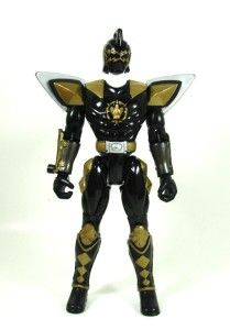 Bandai 03 Power Rangers Dino Thunder Action Figure Black Dino Ranger