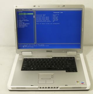 Dell Inspiron 9300 Laptop Computer Wi Fi Ready Used Working