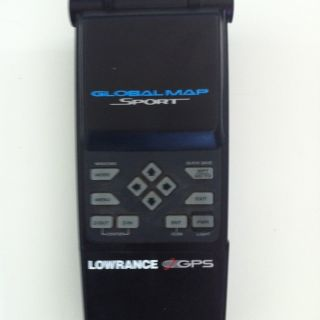 LOWRANCE GPS Global Map Sport No Power Cable Sold As Is. Parts Or Buy