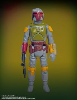 Gentle Giant Star Wars Boba Fett Rocket Firing Jumbo Kenner 12 Figure