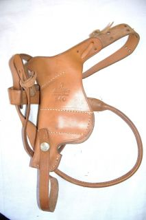 Lawrence 7 540 Brown Leather Shoulder Holster VG Condition