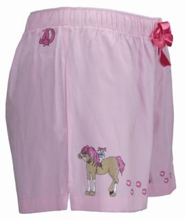 New Childrens Pony Girl Boxer Shorts