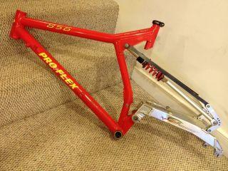 Proflex 856 Frame Large Red With RARE RDS Long Travel Kit Girvin K2