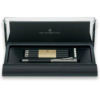 Graf Von Faber Castell Black Perfect Pencil Set