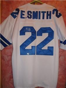 Emmitt Smith signed Dallas Cowboys jersey   Tristar Authentic   Hall