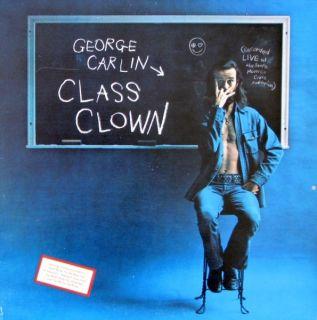 George Carlin Class Clown Vinyl LP