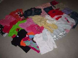 Lot of 20 Girl Spring Summer Clothes Size 5 and 6 Excellent
