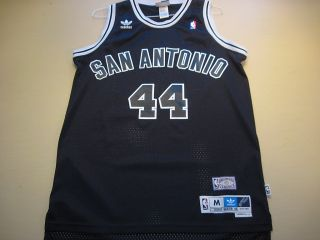 George Gervin San Antonio Spurs Adidas Soul Swingman Jersey Medium