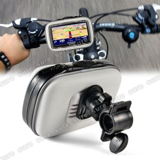 GPS SAT Waterproof Case Mount Holder Motorcycle Bicycle for TomTom