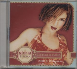Gloria Estefan No Me Dejes De Querer RARE Japan PROMO remixes CD