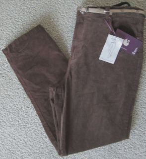 Gloria Vanderbilt Amanda Classic Fit Shiny Corduroy Jeans 14 Stretch