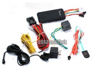 Vehicle Car Realtime GPS Tracker GSM & GPS Antennas SOS Alarm GT06