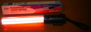 Red Blue Security Traffic Safety LED Light Wand New