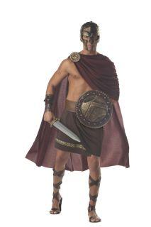 Adult Men Spartan Warrior 300 Gladiator Costume